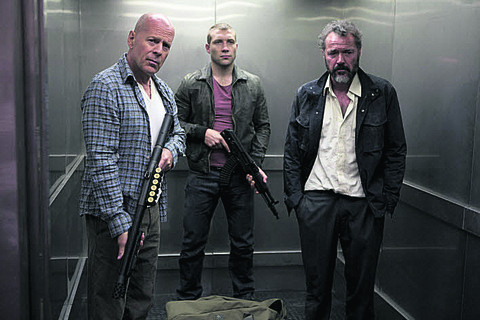A GOOD DAY TO DIE HARD: 'is a soulless money-machine exercise...'