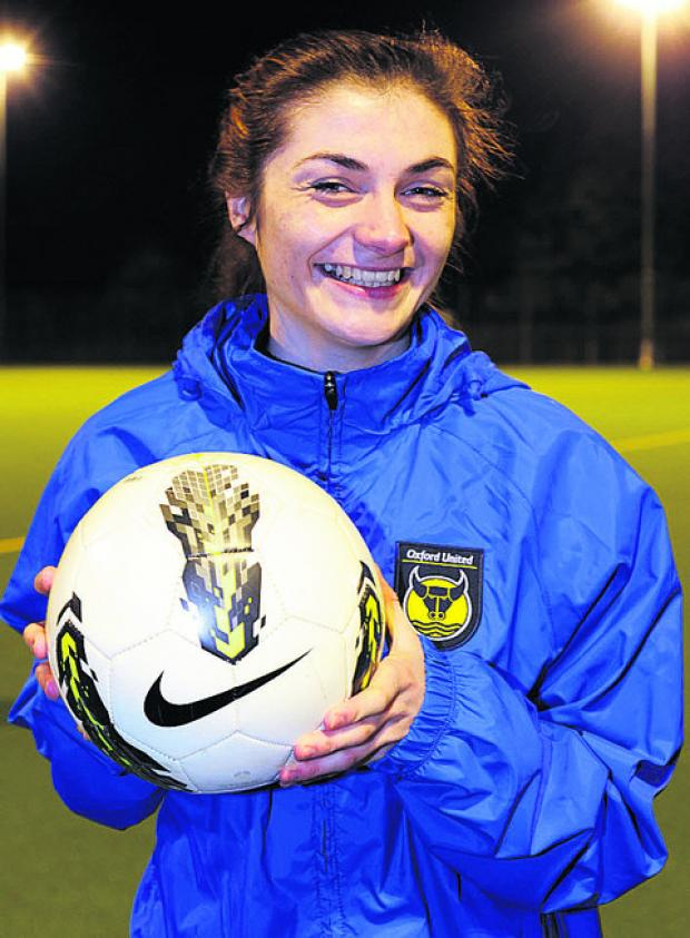 Oxford Mail: Striker Lauren Allison is happy for United to be underdogs