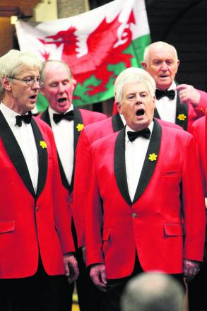 In full voice: The Oxford Welsh Male Voice Choir