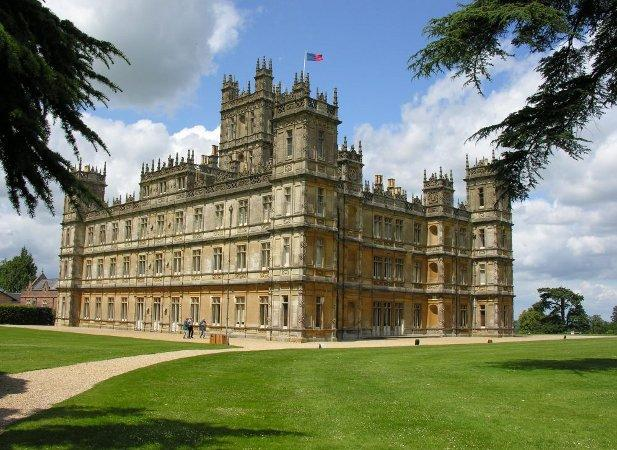 Oxford Mail: Highclere castle