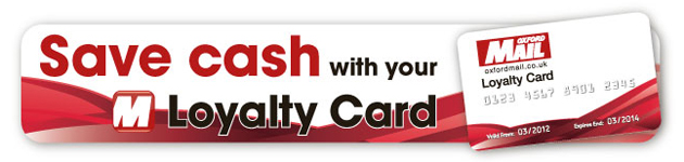 Oxford Mail: Loyalty Card Banner