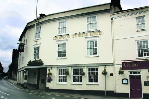 Grand plans: The Crown and Thistle Hotel at Abingdon