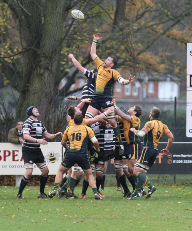 Henley replacement James Winterbottom scored their final try against Barking