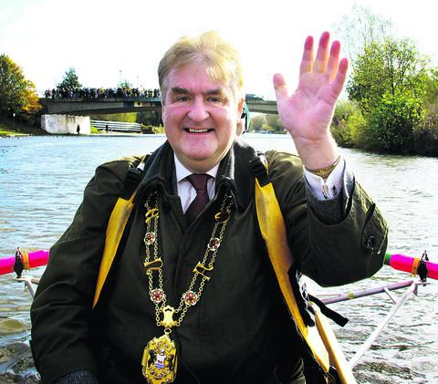 Alan Armitage, pictured last October, has resigned as Lord Mayor of Oxford