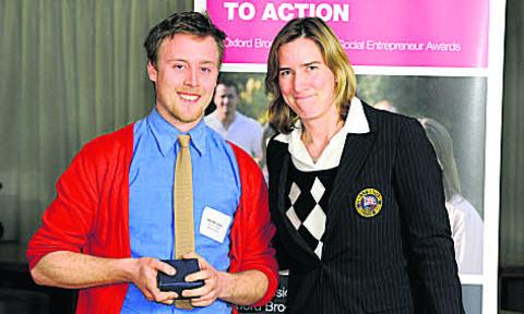 Will McCallum with Katherine Grainger