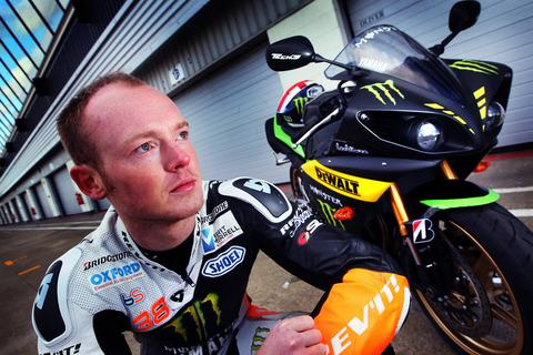 Bradley Smith with his new Monster Yamaha Tech 3 machine