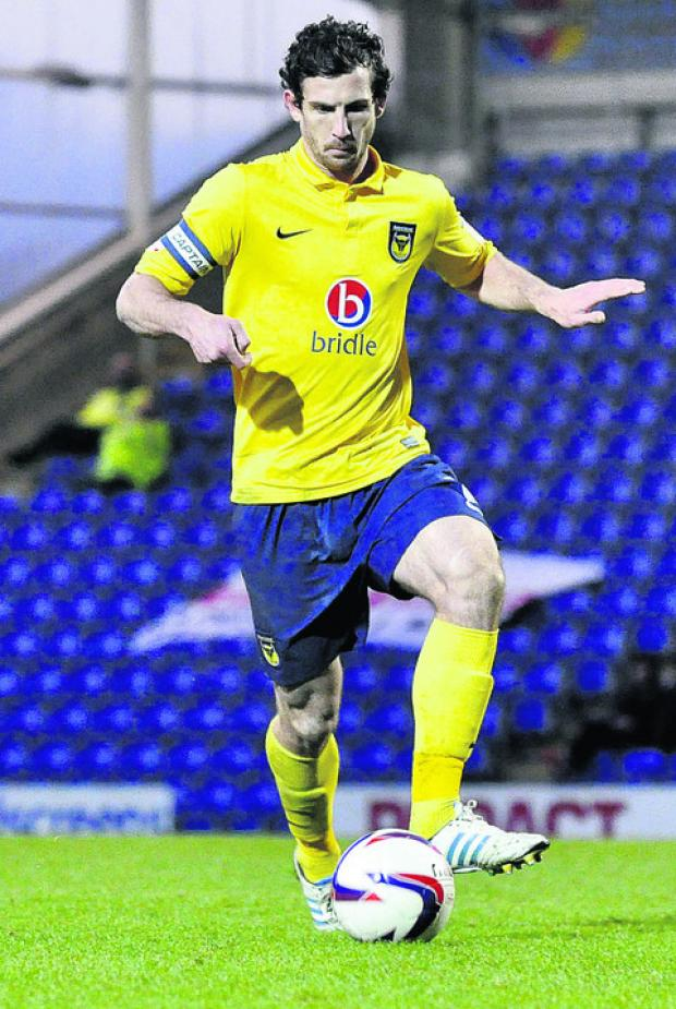 Jake Wright has been Oxford United's most reliable player this season