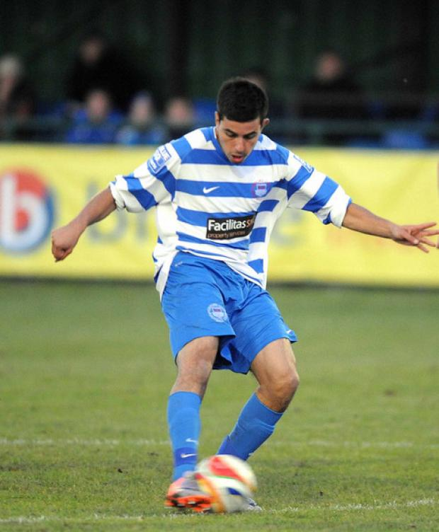 Felipe Barcelos is one of the players Oxford City boss Mike Ford is hoping will cause Bradford Park Avenue problems