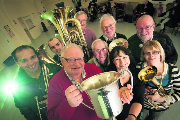Band's blast of glory