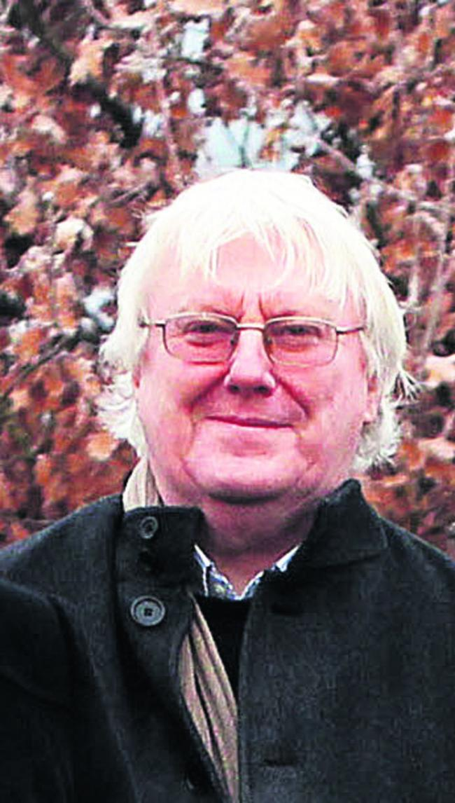 Andrew Carter, of the Friends of Warneford Meadow