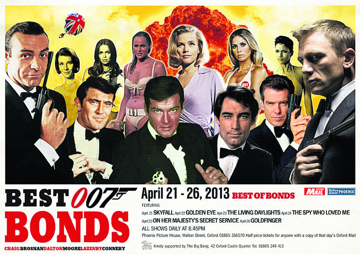 THE NAME'S BOND...JAMES BOND: we salute Britain's greatest contribution to cinema - the James Bond film.