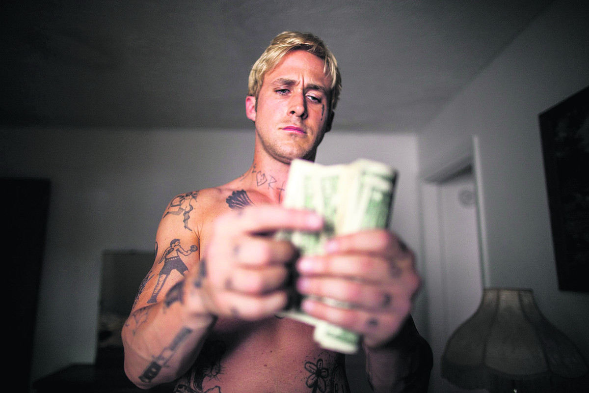 PLACE BEYOND THE PINES: Gosling scorches every frame with his daredevil's simmering rage
