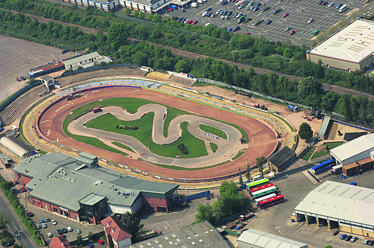 The greyhound stadium