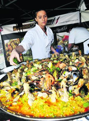 Festival dishes up some foodie heaven: click on the picture