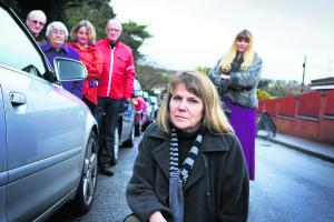 Residents fight to save petrol station: click on the picture