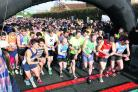 Runners get under way at last year's half marathon
