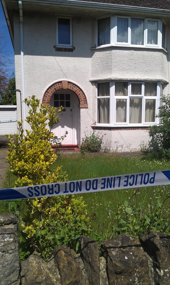 Police are still at the scene of the unexplained death in Risinghurst