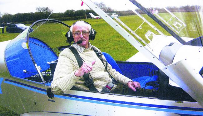 Donald Kerby enjoyed flying light aircraft