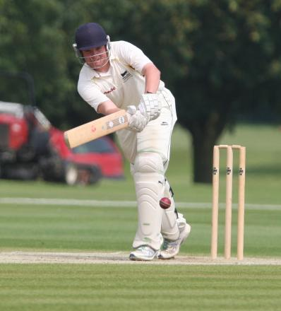Curtly Slatter top-scored for Great & Little Tew