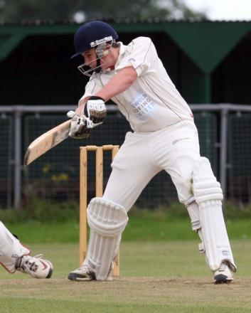 Jordan Garrett hit 55 for Oxon Under 14s against Worcestershire
