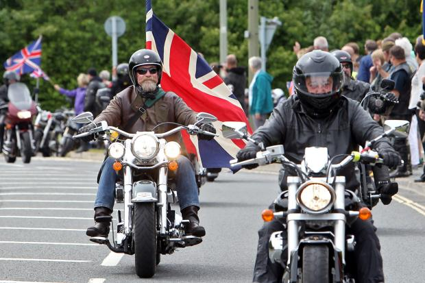 Oxford Mail: RBL Ride Of Respect on sunday Morning