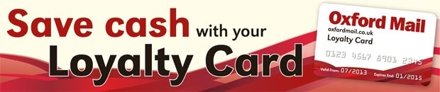 Oxford Mail: New Loyalty Card banner Oxford Mail July 13