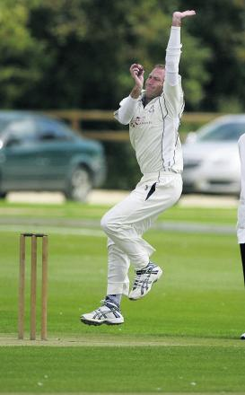 Horspath's Lee Mason took 4-24 as they stayed top of Division 1 with victory against Banbury 2nd