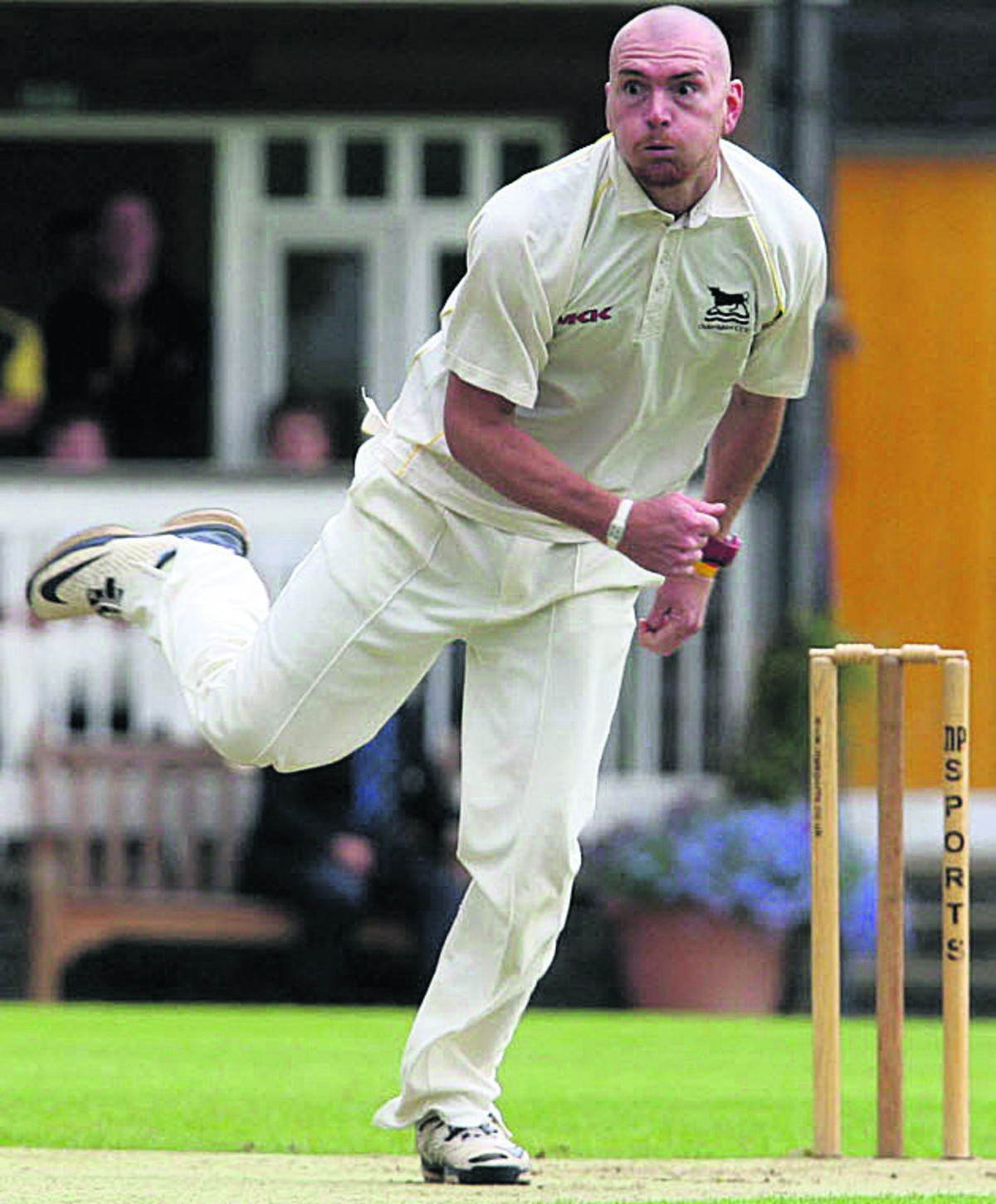 Chad Keegan took five wickets for Oxon against Cheshire at Nantwich