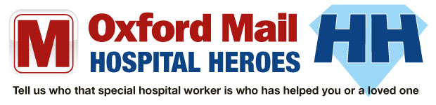 Oxford Mail: oxford mail hospital heroes banner 2013