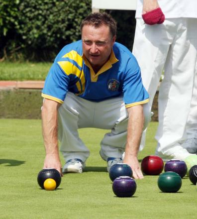 Mark Charlett skipped his Headington A rink to victory against Witney Mills