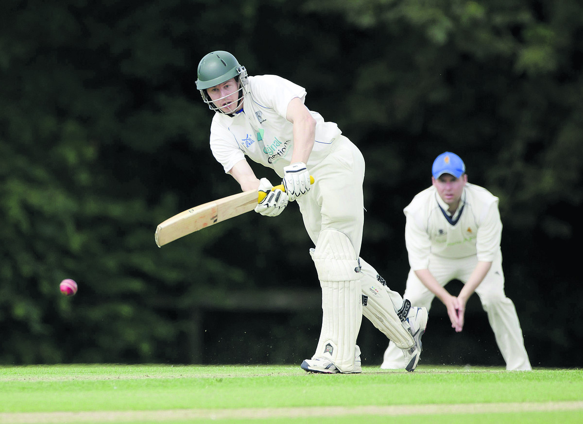 Tim Morgan scored century for Aston Rowant