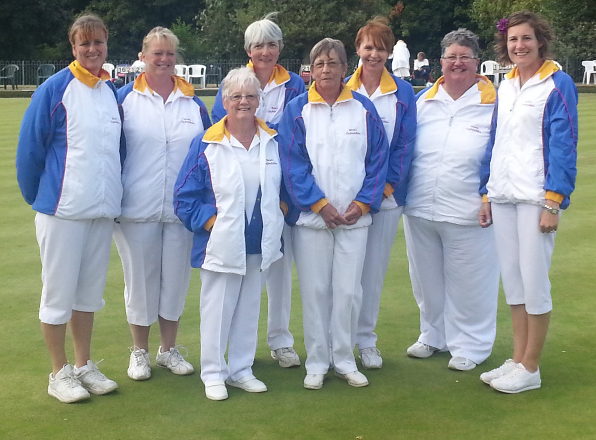 Oxfordshire's team who finished runners-up in the Walker Cup