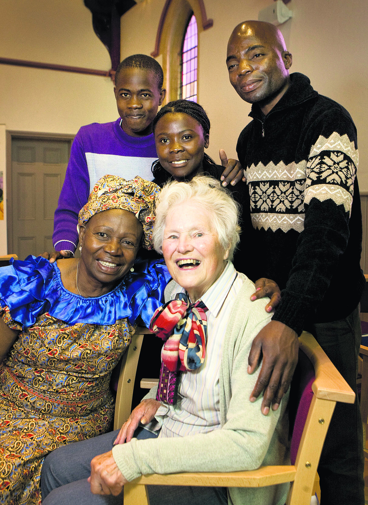 Reunion joy for Zambian and teacher 57 years on