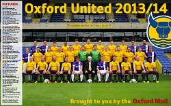 Oxford Mail: Oxford United 2013-14 small
