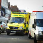 Oxford Mail: Ambulance stock image