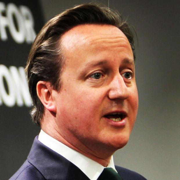 Oxford Mail: David Cameron