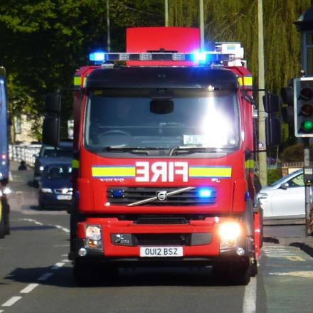 Fire crews tackle Blackbird Leys house fire