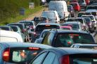 Traffic building as crash blocks A34 Northbound