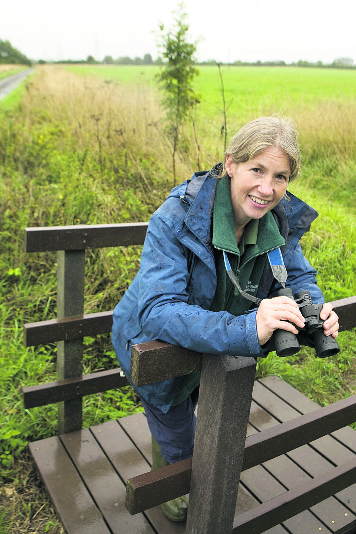 Lisa Lane, upper Thames living landscape manager for BBOWT. Picture OX62046 Antony Moore