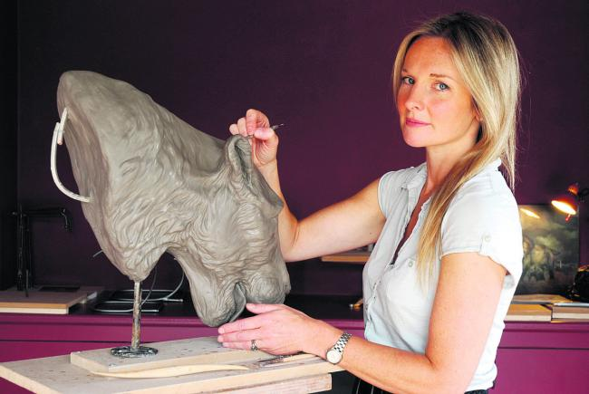 Profile Sculptor Rosamond Lloyd Oxford Mail