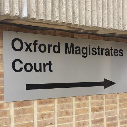 SCALES OF JUSTICE: 18 people convicted at Oxford Magistrates' Court