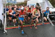 The start of last year's half marathon