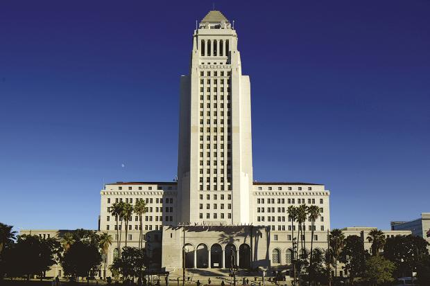Oxford Mail: Los Angeles City Hall