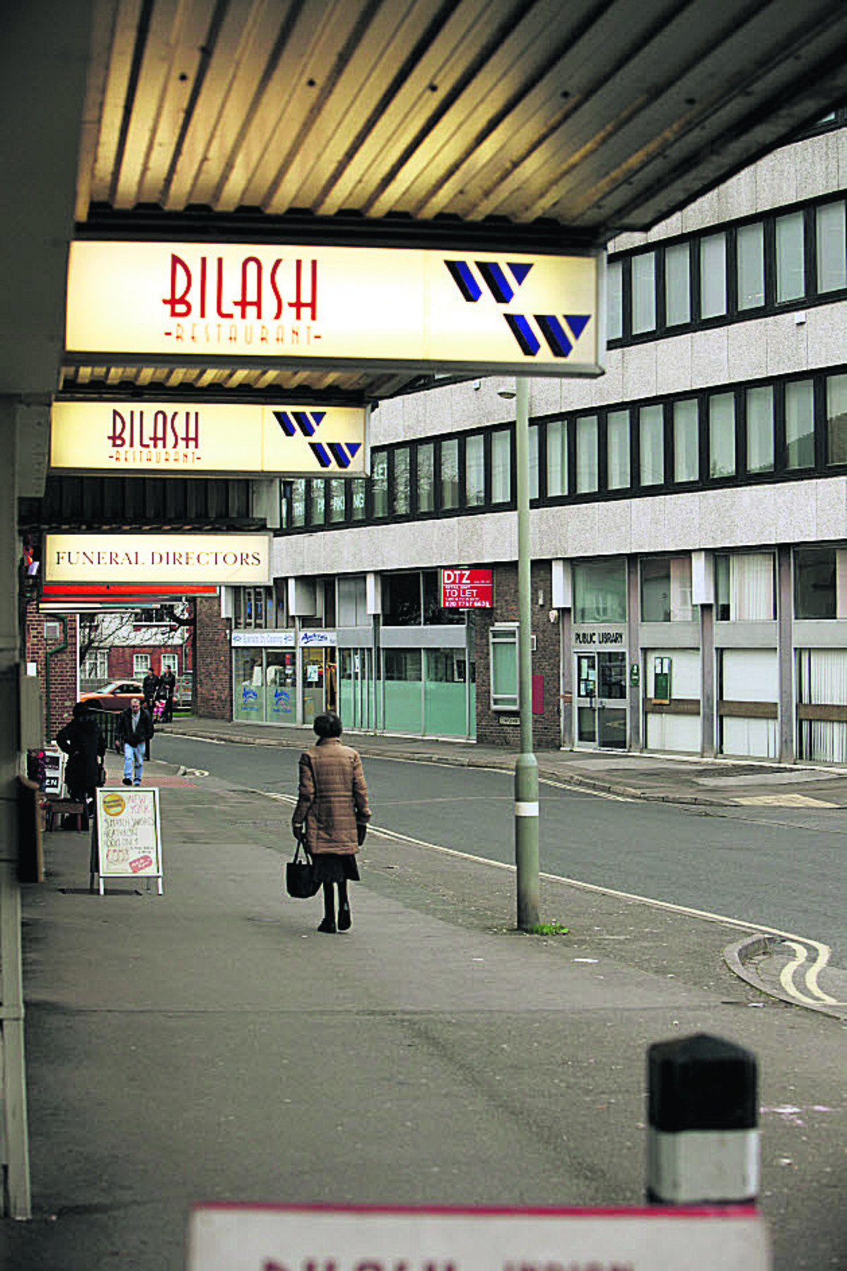 The West Way shopping centre in Botley as it looks now
