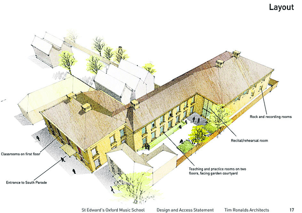 6m Oxford school music building gets consent From Oxford Mail