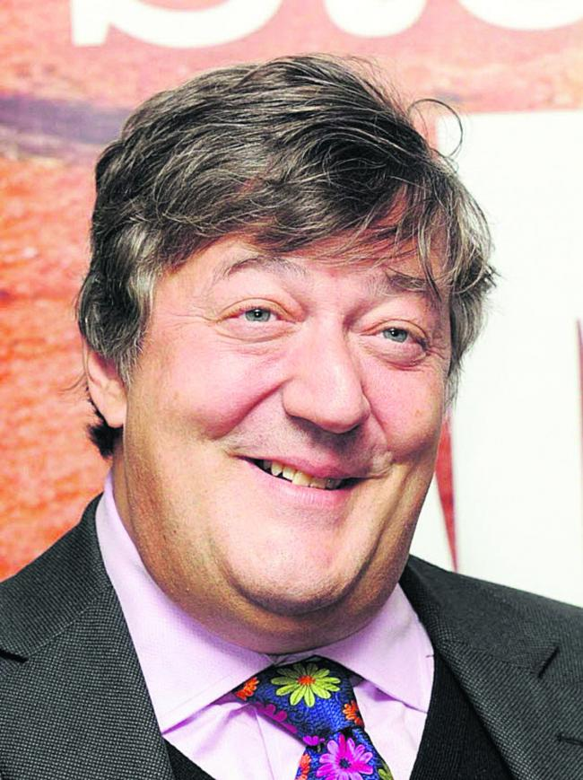 Stephen Fry to visit St Catherine's