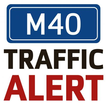 Lane closed on M40 near Banbury after accident