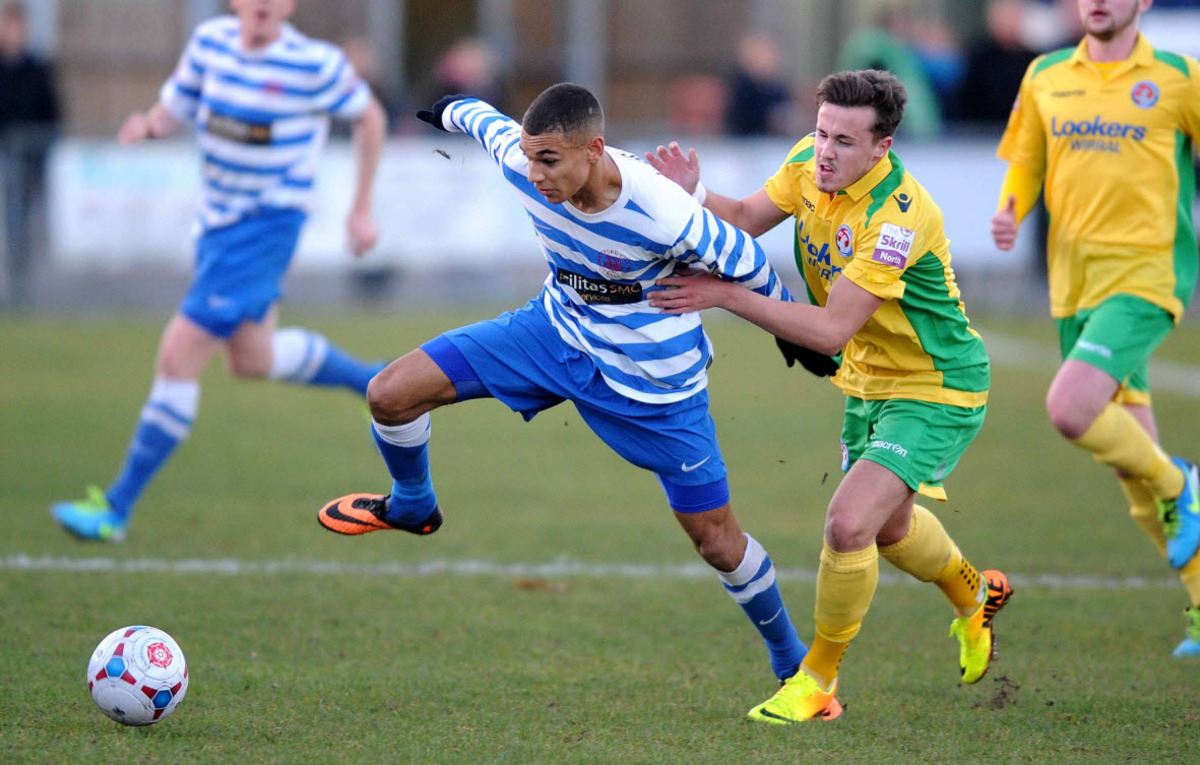 Oxford City's on-loan striker Kayden Jackson has had his stay at  the Marsh Lane club extended