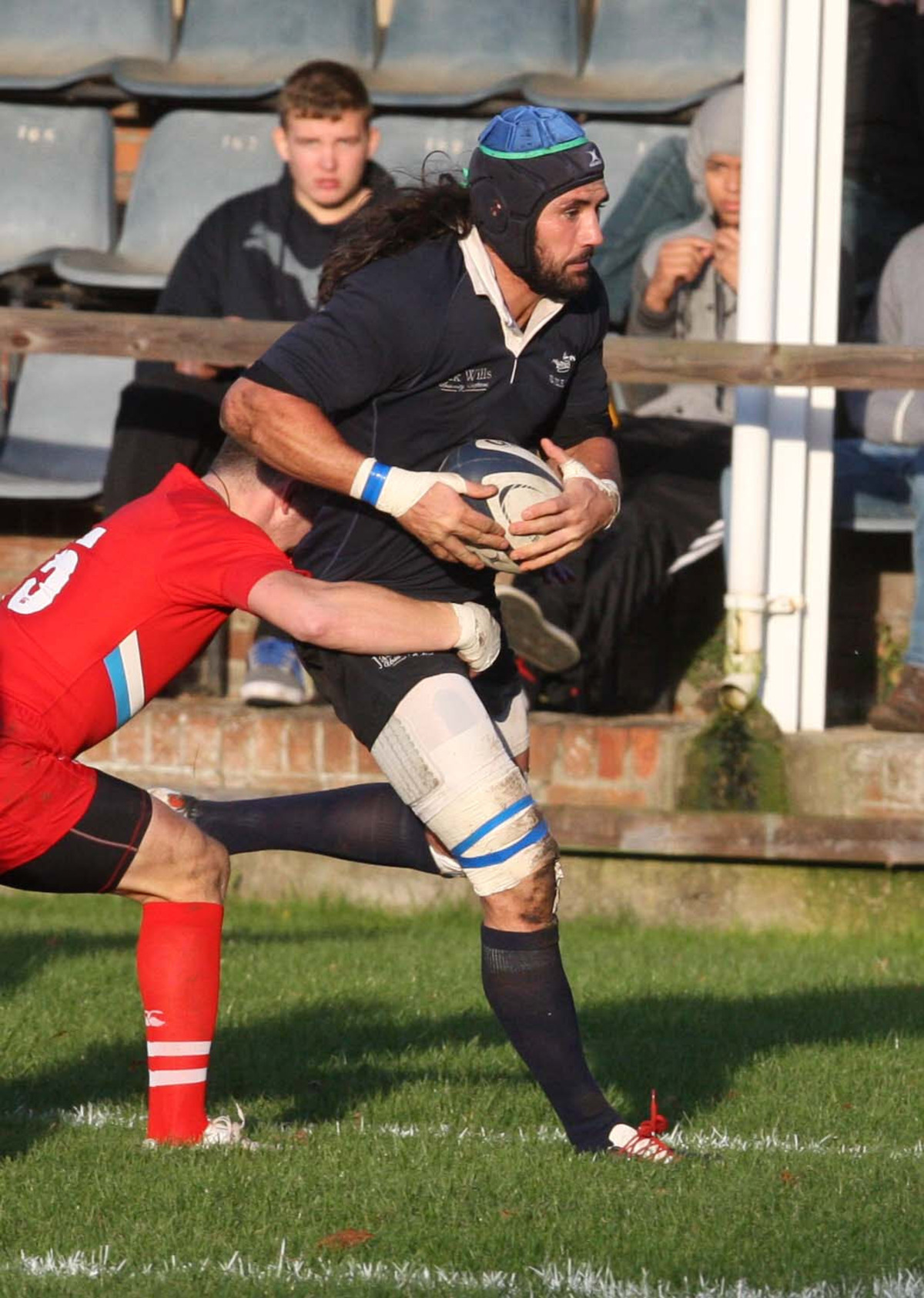 Oxford University captain John Carter scored a try in the 40-8 win at Esher last night