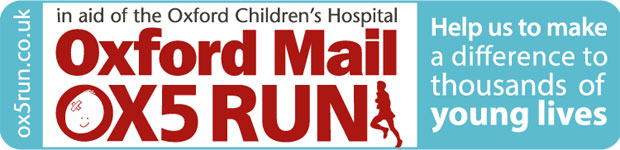 Oxford Mail: New ox5 run banner 2014